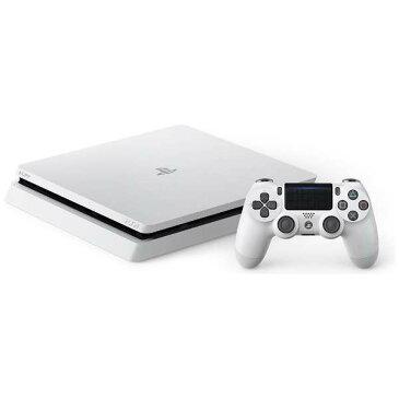 【送料無料】SONY CUH-2100AB02 グレイシャー・ホワイト PlayStation 4 [ゲーム機本体 (HDD500GB)]