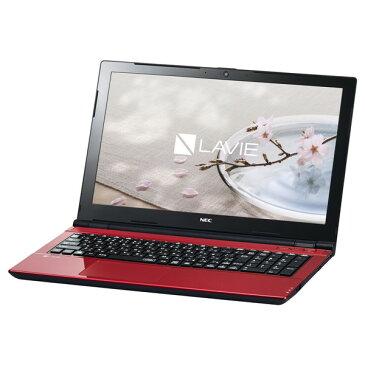 【送料無料】NEC PC-SN16CNSAA-8 ルミナスレッド LAVIE Smart NS [ノートパソコン 15.6型ワイド液晶 HDD500GB DVDスーパーマルチドライブ]