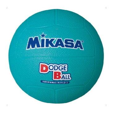 MIKASA D1 G [ドッジ1号(小学生用) 教育用 ゴム 緑]