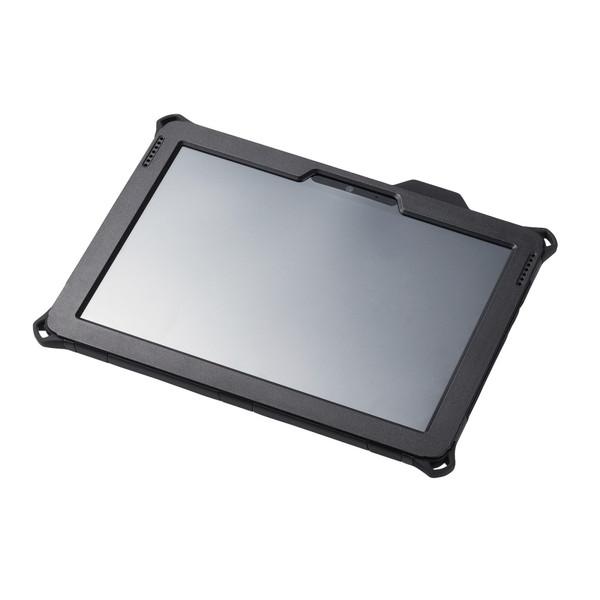 ELECOM TB-MSG18HVBK ブラック [Surface Go フルプロテクトケース/ZEROSHOCK/耐衝撃/ショルダーベルト付] メーカー直送