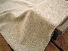 粗挽杢スパンフライスニット 無地《カフェオレ》■TOP糸で編みたてたスパンフライスニットです。