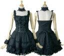 【ハロウィン】【ロリィタ】【ゴスロリ】+G.L.P61036黒ゴシックレースジャンパースカート 1