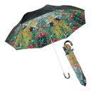名画折りたたみ傘 晴雨兼用 クリムトフラワーガーデン(C) (AU-02506) 単品 [キャンセル・変更・返品不可]