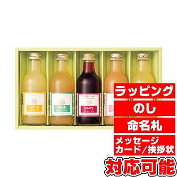 りんご村からのおくりもの 果汁100%ジュース詰合せ (HM-5) [キャンセル・変更・返品不可]