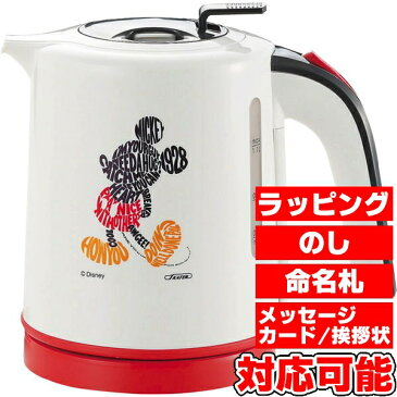 ミッキーマウス 電気ケトル1.1L (MM-206) [キャンセル・変更・返品不可]