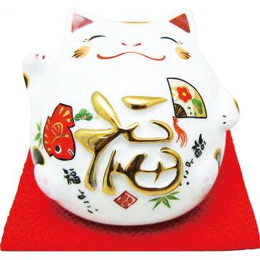 丸猫貯金箱 福 (018-0212B) [キャンセル・変更・返品不可]