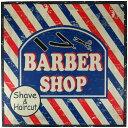 ウッドボード(BARBER SHOP) 28621 [ラッピング不可]...