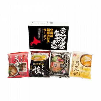エン・ダイニング 北海道繁盛店対決ラーメン 4食×12個 HTR-10