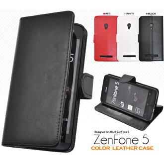 [供無(智慧型手機情况)SIM智慧型手機ZenFone5(然後電話)使用的皮革設計枱燈情况門][退貨、交換、取消不可]