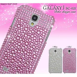 [(智慧型手機情况)可愛,并且供豪華的♪GALAXY J SC-02F(星系J)使用的dekokesu][退貨、交換、取消不可]