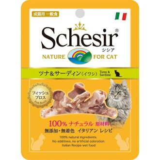 [shishia/猫/小袋金槍魚&沙丁魚(沙丁魚)70g][退貨、交換、取消不可]