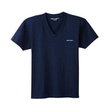 GUNZE(グンゼ) COMME CI COMME CA Vネック半袖Tシャツ [キャンセル・変更・返品不可]