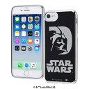 iPhone 8/7/6s/6 スター・ウォーズ/TPUソフトケース メタリック/ダース・ベイダー [キャンセル・変更・返品不可]