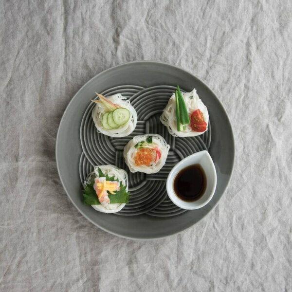 食器, 皿・プレート  (musubi) 25.5cm