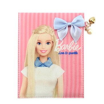 バービー Barbie 折りたたみミラー ライトピンク 11663 Barbie 手鏡 スタンドミラー メイク かわいい キャラクター グッズ 雑貨 送料込み メール便配送