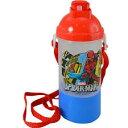 スパイダーマン 水筒 ストローキャンティーン ホームカミング ボトル ストロー おやつケース マーベル 12575