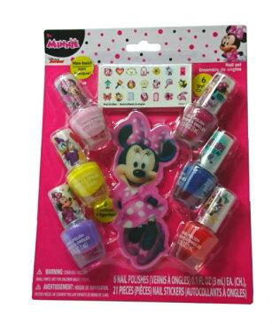 子供会 景品 ミニーマウス ネイル ネイルケアセット ネイルセット ミニー Disney MINNIE おもちゃ おしゃれ マニキュア キャラクター キッズコスメ 女の子 プレゼント ギフト 12690 メール便配送 送料込み