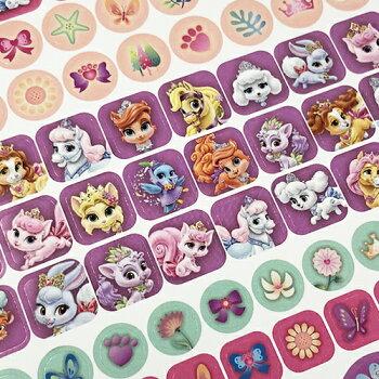 ディズニープリンセスロイヤルペットステッカー295個入りメール便配送文具文房具子供会景品Disneyシールステーショナリーステッカーペット猫ねこ子猫こねこポニーかわいいキャラクター雑貨グッズPalacePets13347