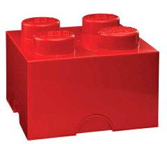 LEGO Storage Brick 4レゴブロックのストレージボックスLEGO レゴ ストレージボックス4 レッ...