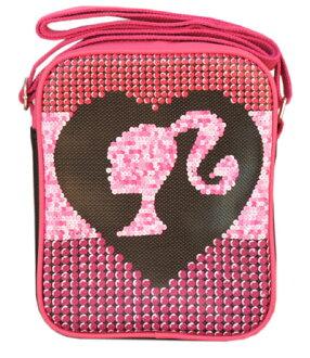 巴比Barbie挎包輪廓光亮裝飾片女人的孩子新奇商品yuu分組不可