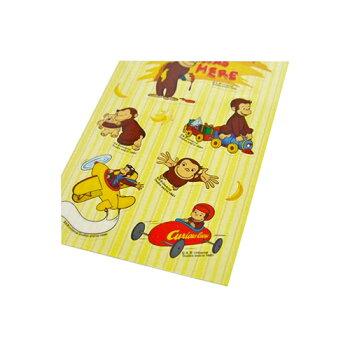 キュリアスジョージ(おさるのジョージ)クリアステッカーシールアニメグッズ雑貨おもちゃ送料込みメール便配送