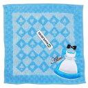 ディズニープリンセス アリス ドレス ミニタオル 10880k Disney 不思議の国のアリス ハンドタオル 水色 雑貨 キャラクター ディズニー 送料込み メール便配送