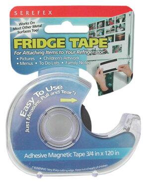 【訳あり】SEREFEX マグネットテープ FRIDGE TAPE 1966 磁石 文具 文房具 海外 冷蔵庫 掲示 送料無料 メール便配送
