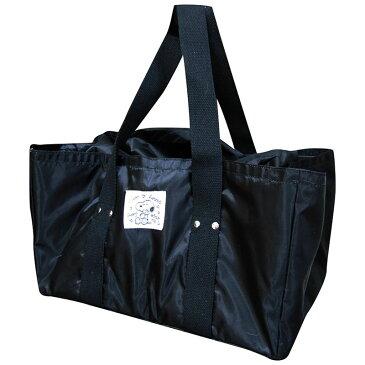 スヌーピー保冷折り畳みレジかごバッグ(全4色)☆ブラック☆