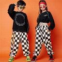 キッズ ダンス衣装 ジャズダンス 長袖 ロングパンツ チェック 女の子用 男の子用 揃えるダンスウェアヒップホップ 110cm 120cm 130cm 140cm 150cm 160cm 170cm 180cm