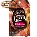 プライムリカーズで買える「スモーキー プリッツ 燻製ベーコン味 24g」の画像です。価格は95円になります。