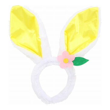 【送料無料_a】イベント 仮装 カチューシャ イースターバニー 復活祭 同色 6個セット