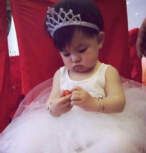 さすだけ簡単ティアラ!キッズドレス・フラワーガール・結婚式・入学式・卒業式・発表会・髪飾り・ヘアアクセ・フラワーガール・子供