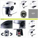 車・バイク & パーツ通販専門店ランキング8位 ジェットヘルメット STRAX SJ-8 ジェットヘルメット ホワイト L Lサイズ