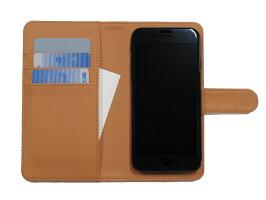 スマホケース多機種対応マルチiPhone6iPhone6siPhone7iPhone8Xperiaアイフォンアンドロイドおしゃれカード収納スライドコラボオリジナル手帳型ケース携帯カバー携帯ケース【メール便送料無料】