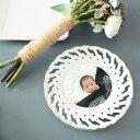 飾り皿-円形タイプ/写真プリント/七五三/誕生/記念/結婚/お祝い/ギフト/贈り物/アンティーク風/ ...