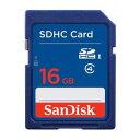 SanDisk(サンディスク) SDHCカード 16GB Class4 (英語パッケージ)