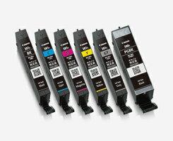 【純正インク】キヤノン(CANON)純正インクBCI-381s+380sインクカートリッジ6色セット(小容量)BCI-381s+380s/6MP【送料無料】-画像2