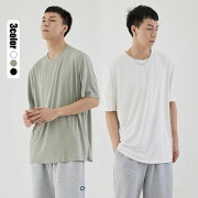 メンズファッションTシャツインナーTシャツ万能トップス半袖無地丸首涼しい春夏秋冬大きいサイズ大人カジュアル3色M-4XL
