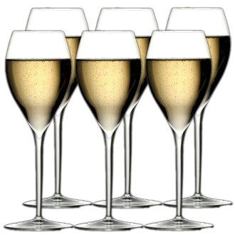イタレッセ Grand Cru, champagne glasses, you get a 6 piece set fs3gm