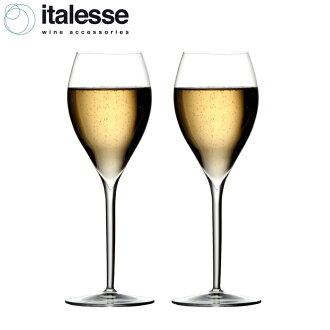 .2 イタレッセグランクリュ champagne glass set fs3gm