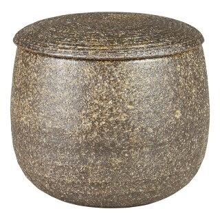 伊賀焼き・陶器製おひつ(柿釉)