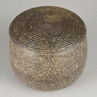 【日本製】伊賀焼き・陶器製おひつ(柿釉)34-07-12-se