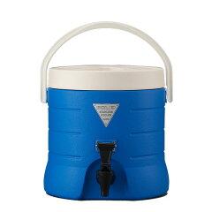 業務用コック採用で耐久性バツグン!【ギフト】ステンレス保冷ジャグ(ブルー)10L