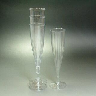 組立式シャンパングラス・お得な10個セット