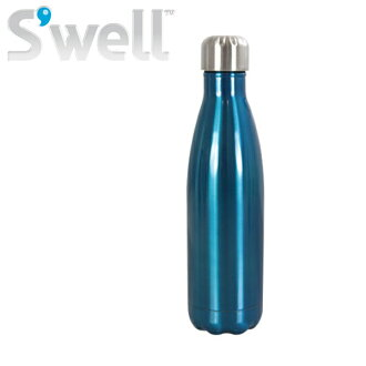 S ' well ( swell ) クラシックスウェル plastic bottles-bottles (500 ml) blue water bottle / insulated / thermal insulation / stainless steel / sports bottle / lightweight / outdoors