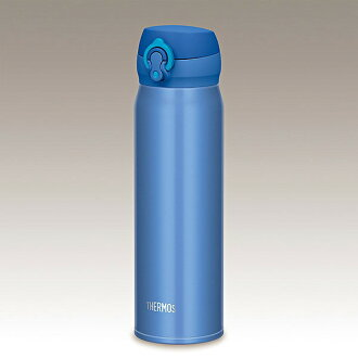 Thermos vacuum insulated jmy 600 ml JNL-602 MTB metallic blue flask stainless steel bottle thermos thermal insulated direct drink