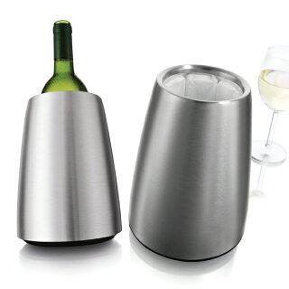 送料無料ワインクーラーバキュバンラピッドアイスステンレス直径7〜8cmのワインボトルに対応