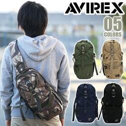AVIREXアヴィレックスイーグルボディバッグワンショルダーバッグ無地迷彩柄肩掛けななめがけメンズレディース通学通勤AVX305Lavirex-001