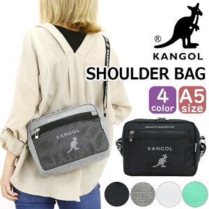 ショルダーバッグ カンゴール KANGOL バッグ 軽量 コンパクト スタイリッシュ かわいい 鞄 ブラック メンズ レディース 男女兼用 カジュアル ミニショルダー レジャー KGSA-BG00076