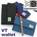 karrimor カリマー 財布 VT wallet 正規品 三つ折り財布 メンズ レディース 男女兼用 人気 2way 軽量 ブラック VTウォレット